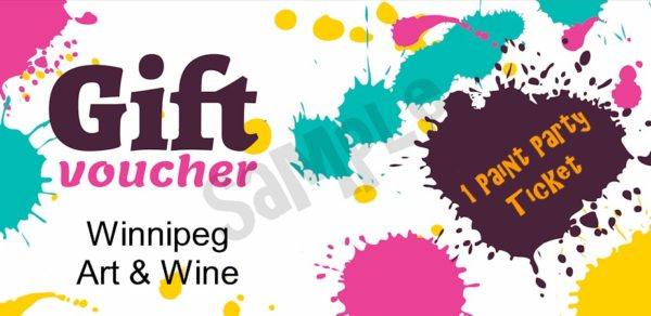 Gift certificates winnipeg art winewinnipeg art wine gift certificates are available purchase a gift certificate that can be used by the receiver for any art wine public paint party event yadclub Image collections