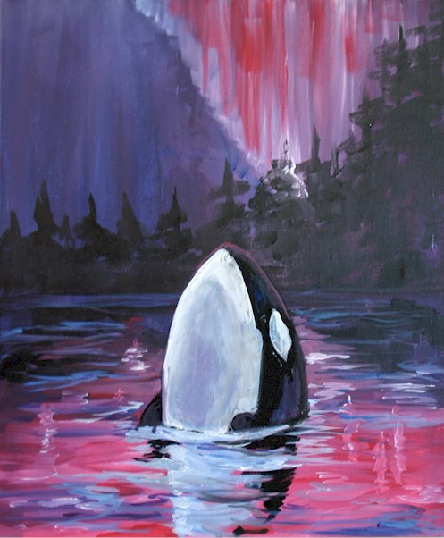 ORCA – PRIVATE PAINT PARTY