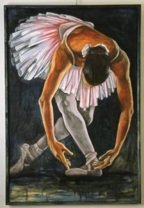 Painting Fridays Ballet by Kathy Johnston Winnipeg Art and Wine