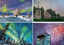 MANITOBA LANDSCAPE - Winnipeg Art & Wine Painting Event