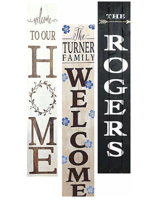 3 Welcome Signs