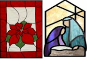 CHRISTMAS FAUX STAINED GLASS   - Winnipeg Art & Wine Painting Event