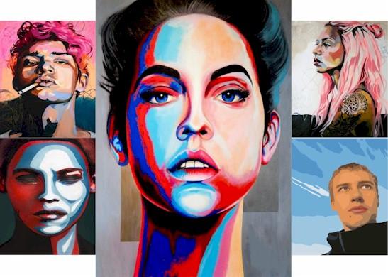 POP ART PORTRAIT – MAY