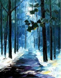 WINTER WALK - Virtual Paint Party